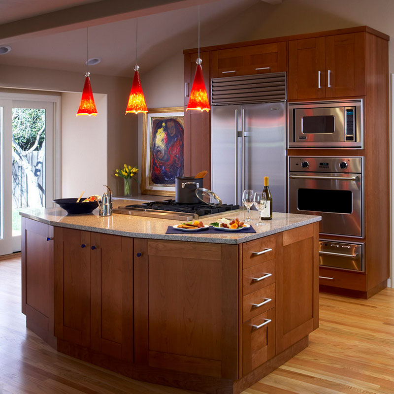 Decorative Pendant Lights To Cheer Up Your Kitchen Home Design - Pendant lighting for small kitchen