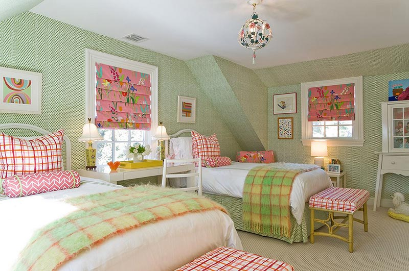 Girls Bedroom Green 20 fun pink and green bedroom designs | home design lover