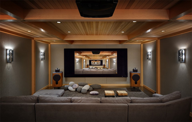 Home Cinema. Marilyn Deering Design
