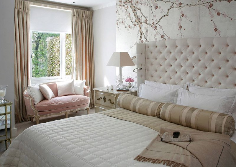 20 Elegant and Tranquil Pink and Gray Bedroom Designs | Home ...
