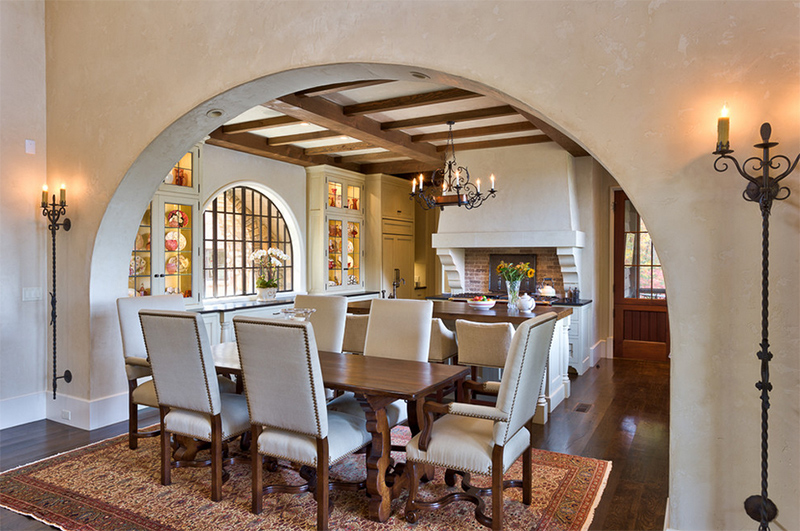 25 Ideas On How To Add An Archway In The Dining Area