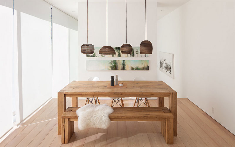 lacquere pendant light with shade