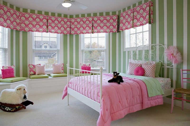 20 fun pink and green bedroom designs