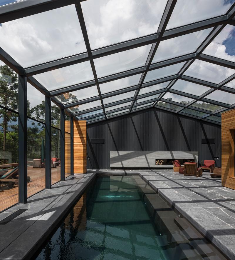 Mororo House pool