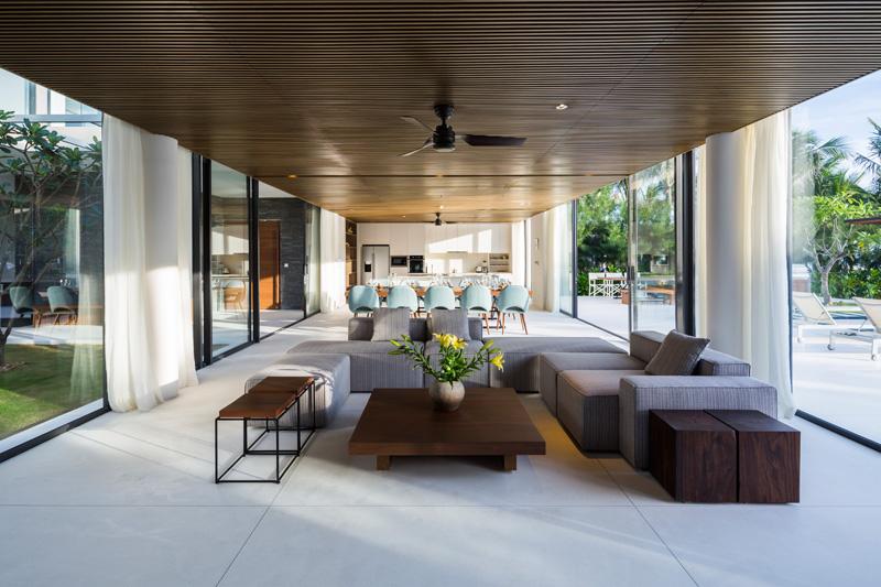 Nama Residence ceiling