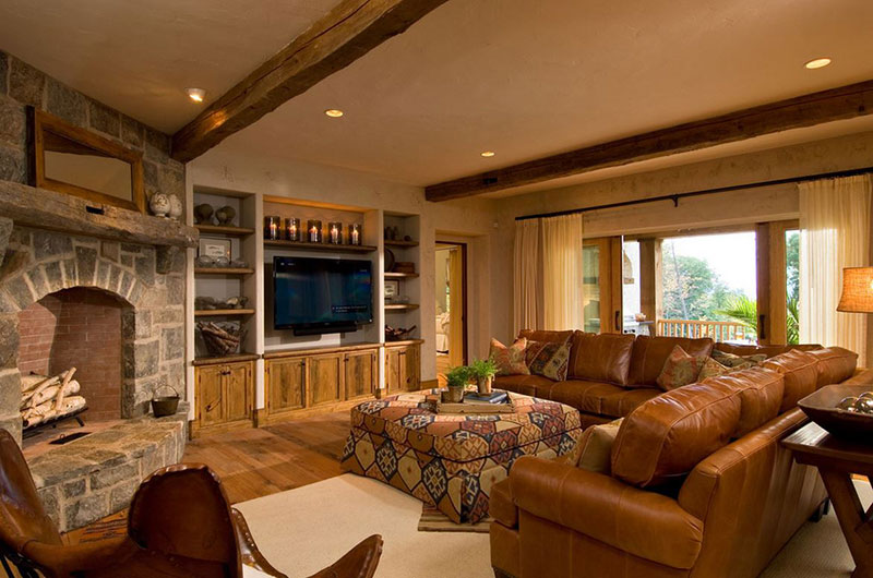 20 Cozy Rustic Chairs In Living Room For A Warm Appeal