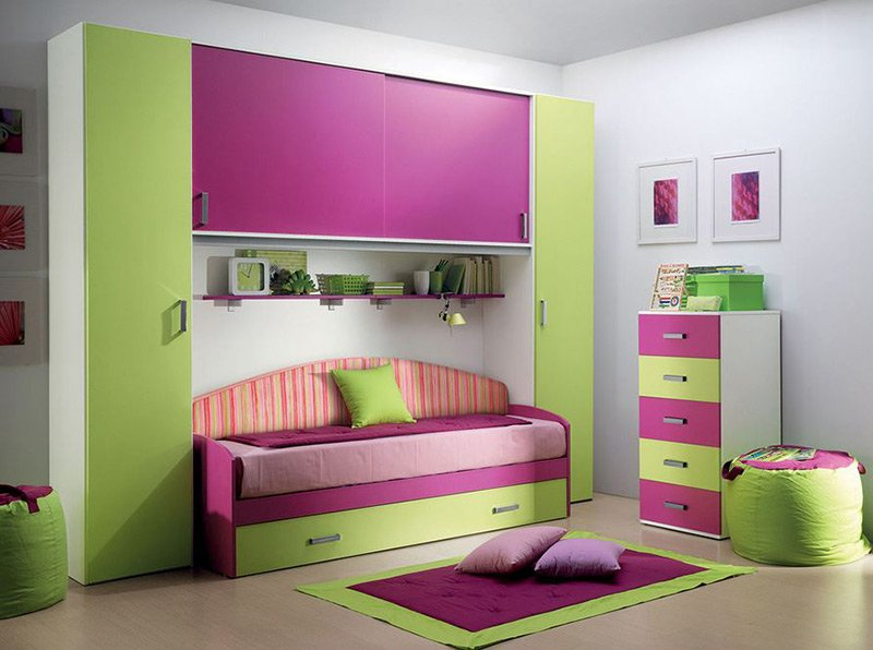 20 fun pink and green bedroom designs home design lover rh homedesignlover com