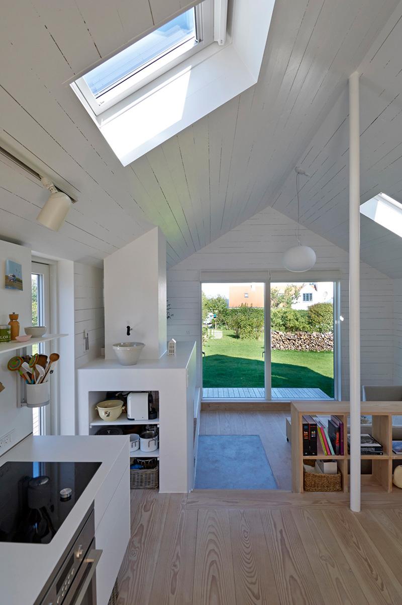 Five Little Houses kitchen door