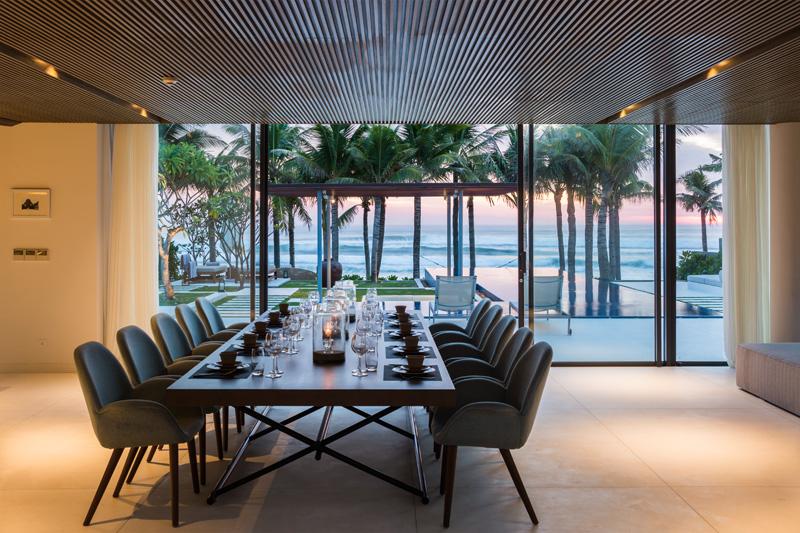Nama Residence dining space