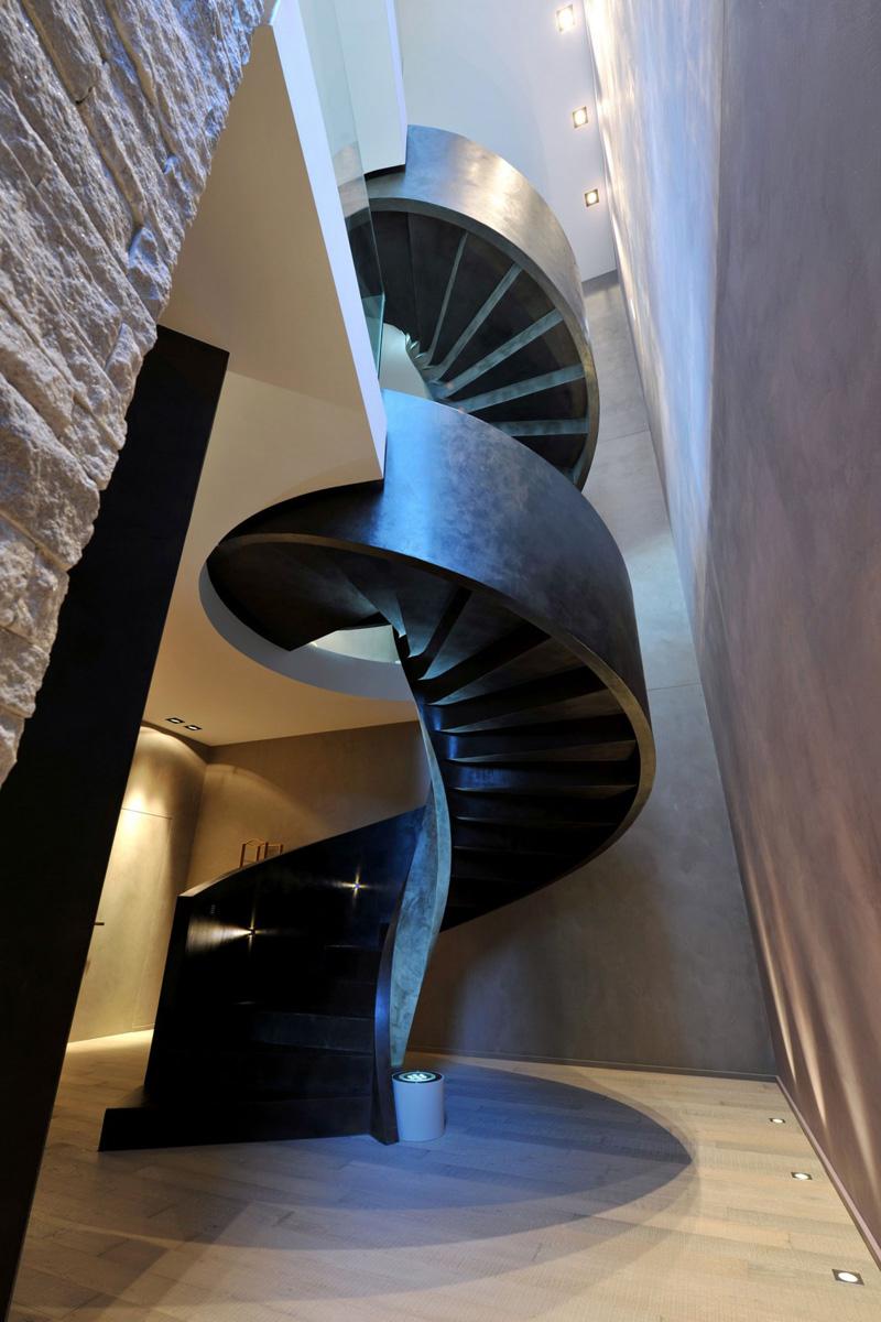 Lugano Staircase Villa