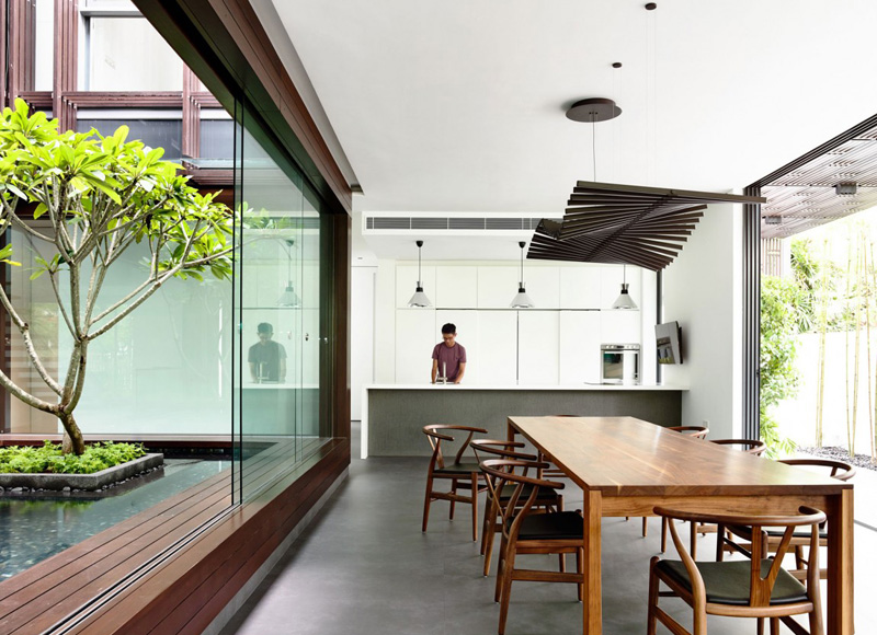 Vertical Courts Kitchen