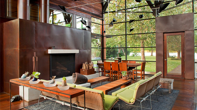 22 Copper Fireplaces To Add Appeal To Your Living Room | Home Design Lover