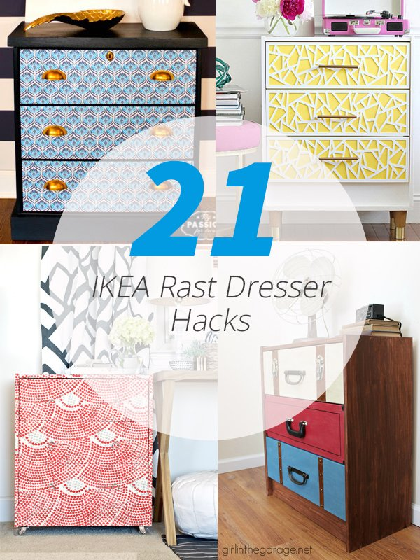 Ikea Rast Drawer Hacks