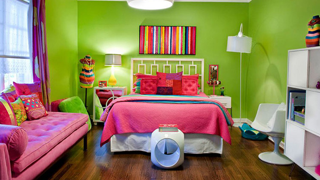 20 Fun Pink And Green Bedroom Designs Home Design Lover