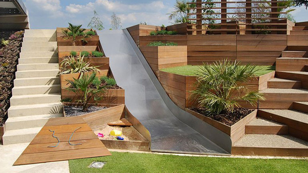 20 Terraced Planter Ideas to Add More Visual Appeal to ...