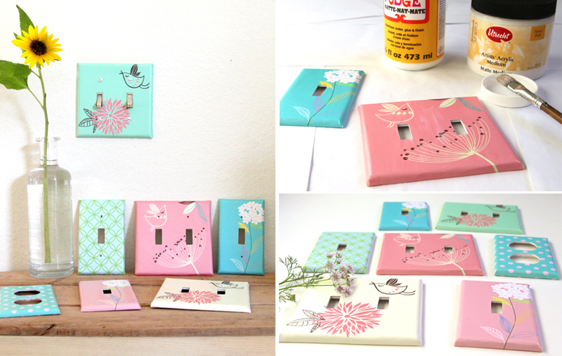 Make Your Own Designer Switch Plates