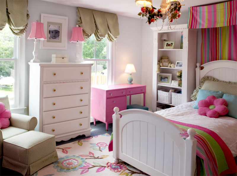 23 Sweet Traditional Bedroom Ideas for Girls | Home Design Lover