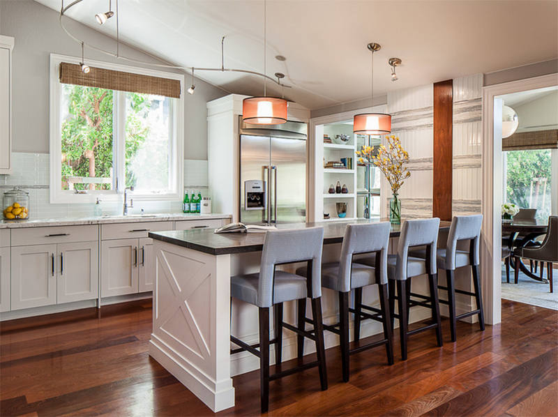 Houzz Contemporary Kitchen Islands