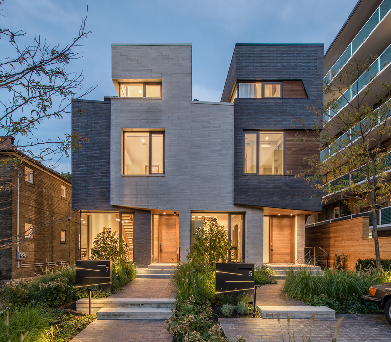 Canadian Apartments: Relmar Houses: Unique Modern Complex In Toronto, Canada