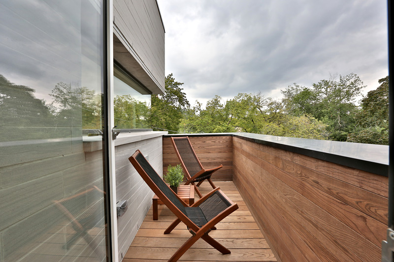 Relma Houses deck