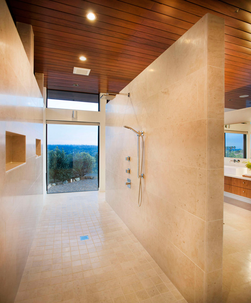 California House shower