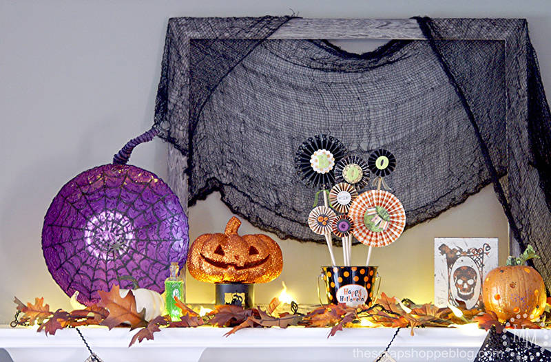 2014 Halloween Mantle
