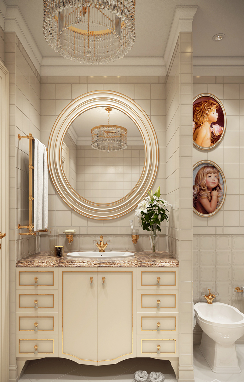 22 beige contemporary bathroom vanity designs to inspire - What is contemporary design ...