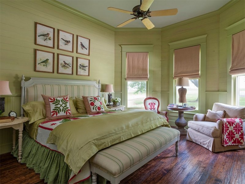 Farmhouse Bedroom Houston