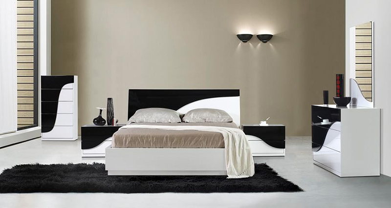 modern bedroom set