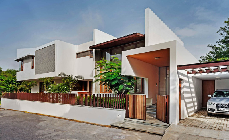 L-Plan House Exterior 2