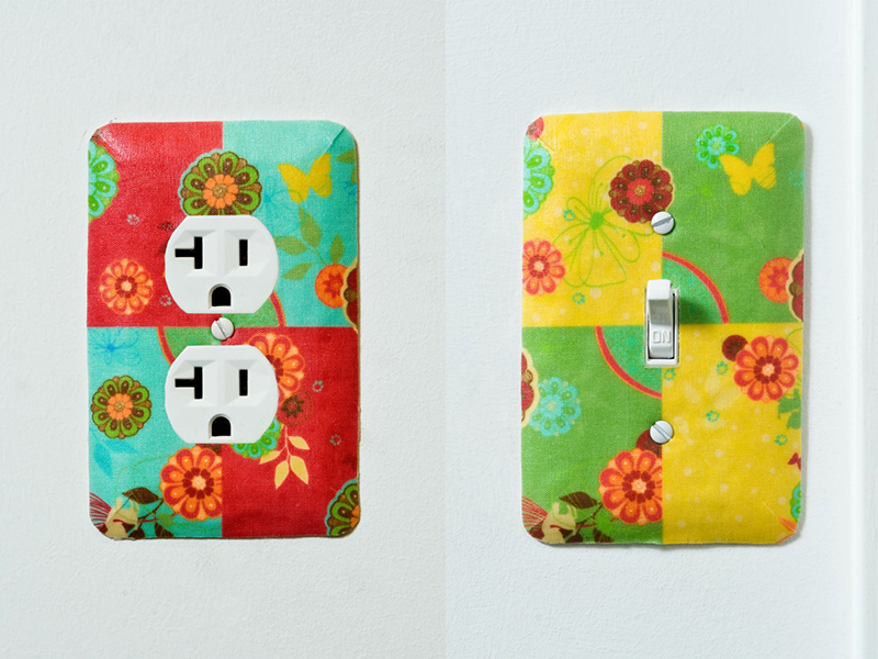 Fabric Outlet Covers