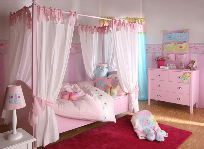 Butterfly Girls Bedroom