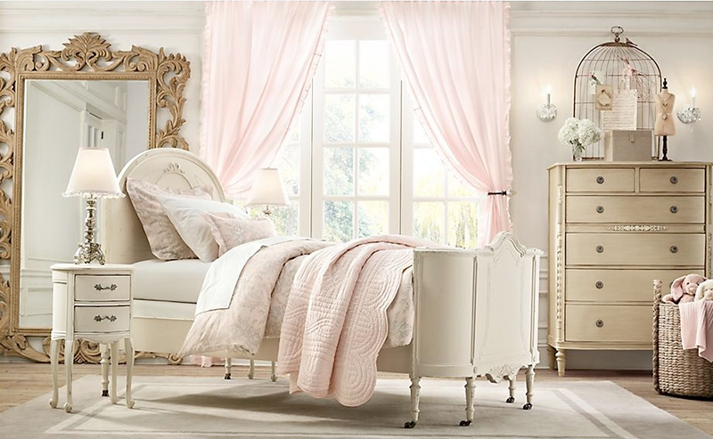 23 Sweet Traditional Bedroom Ideas For Girls
