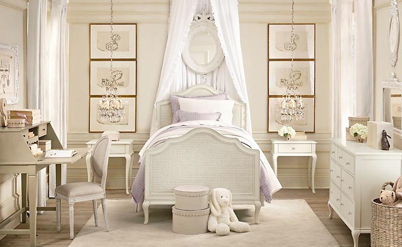 Lilac Cream Bedroom