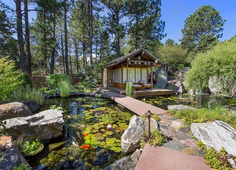 Asian cottage