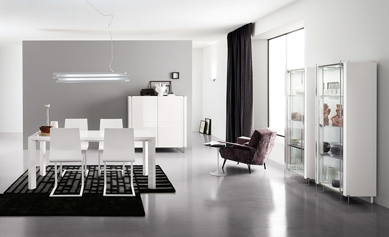 Modern White Dining Rooms 20 stylish and functional modern dining room furniture for your