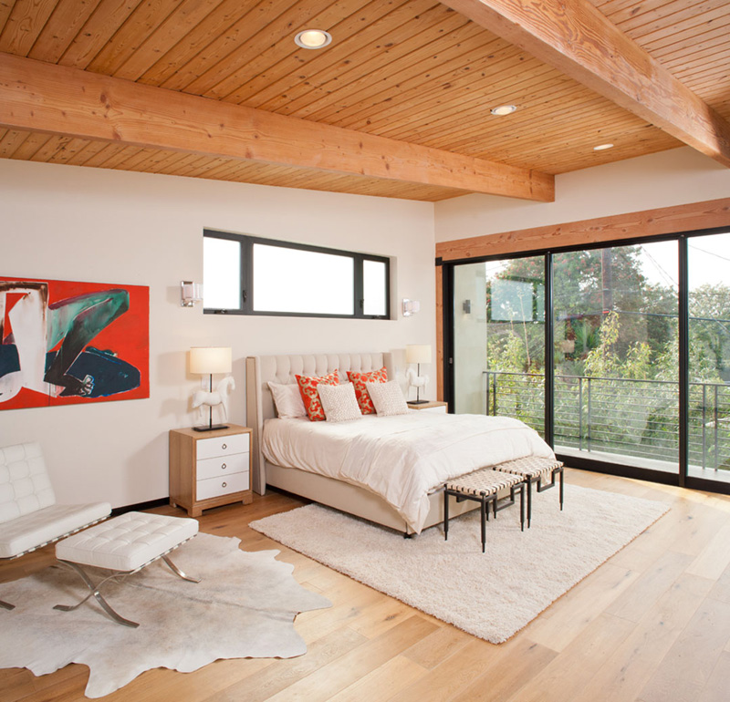 Cloy Residence master bedroom