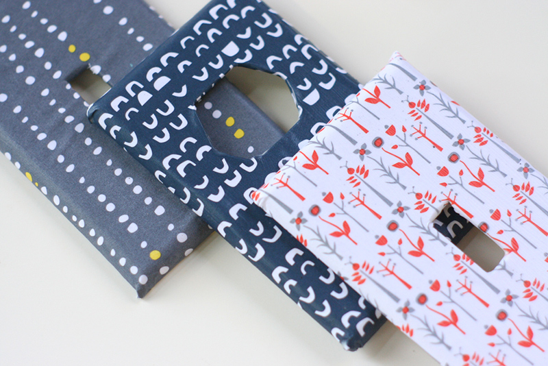 Make: Cover Switch Plates