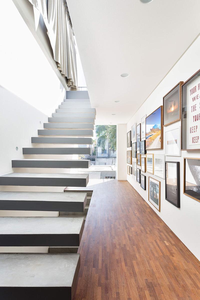Casa Lara kitchen stairs