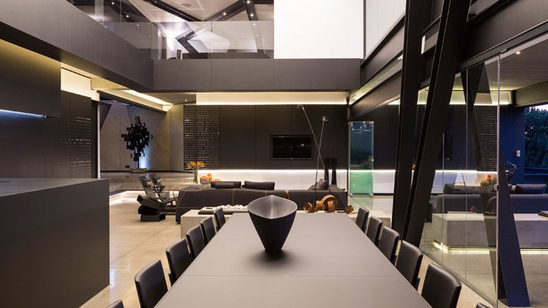 Kloof Road House living dining