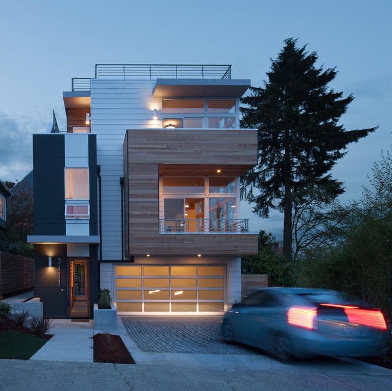 Leschi Dearborn House facade