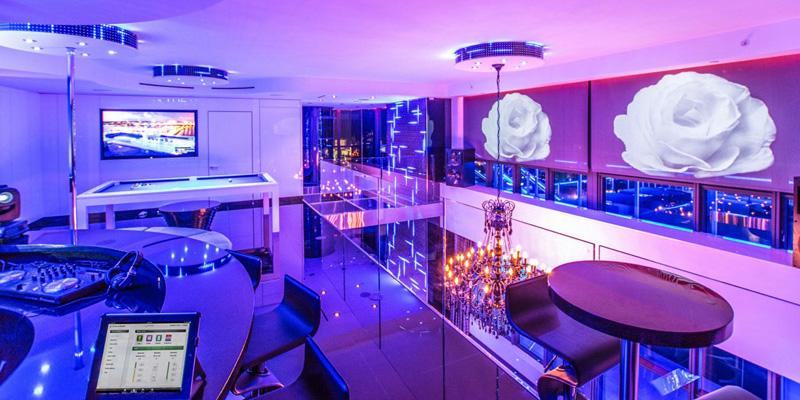 Bentley Bays Penthouse Interior Night