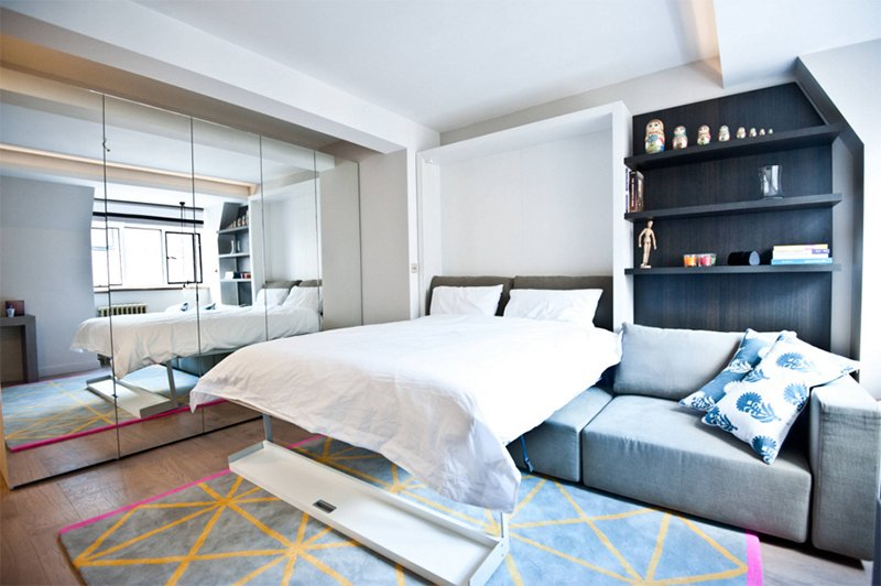 25 Murphy Bed Designs Perfect for Small Spaces | Home Design Lover