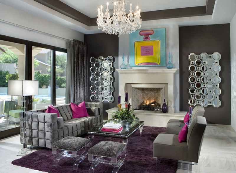 23 Stunning Crystal Chandeliers In The Living Room Home Design Lover