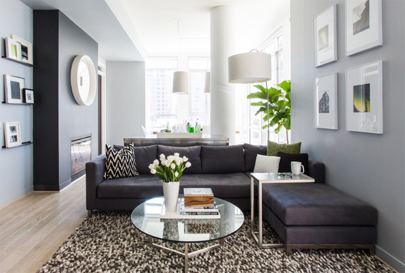 25 Inspiring Images of Gray Living Room Couch Designs ...