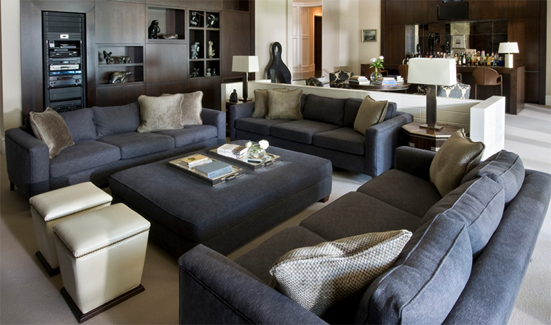 25 Inspiring Images Of Gray Living Room Couch Designs