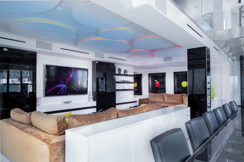 Bentley Bays Penthouse Living Room