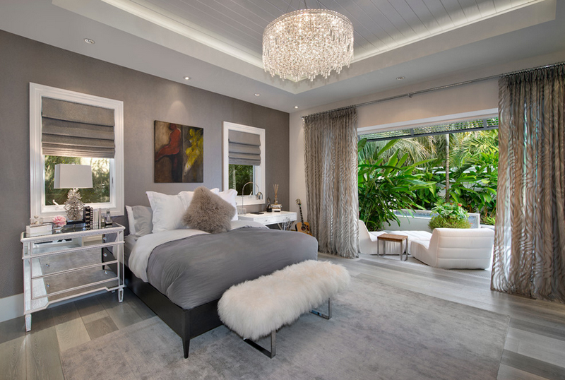 25 contemporary bedrooms with stunning crystal chandeliers home legno bastone aloadofball Images