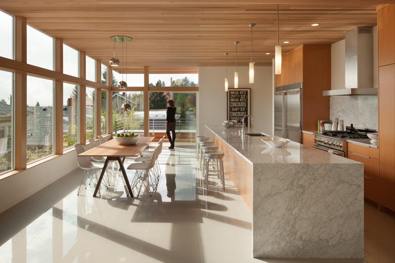 Leschi Dearborn House kitchen
