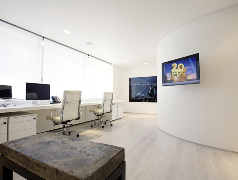 Home Office with Crestron Control